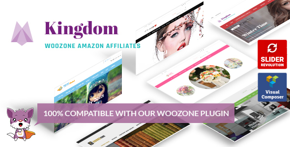 Kingdom - Woocommerce Amazon Affiliates Theme - WooCommerce eCommerce