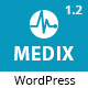 Medix - Health and Medical WordPress Nulled