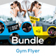 Fitness & Gym Flyers Templates - GraphicRiver Item for Sale