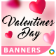 Valentines Day Banners - Image Included - GraphicRiver Item for Sale