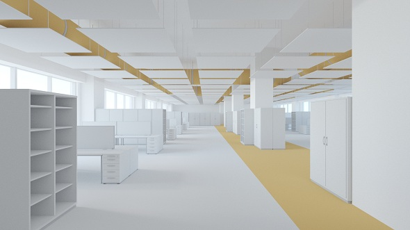 Office space 2 - 3DOcean Item for Sale