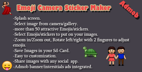 Emoji Camera Maker - CodeCanyon Item for Sale