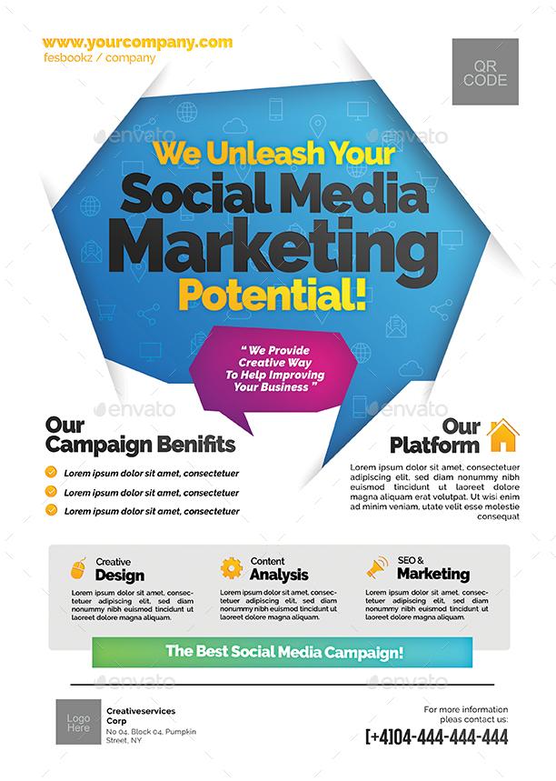 Social Media Campaign Flyer by shamcanggih | GraphicRiver
