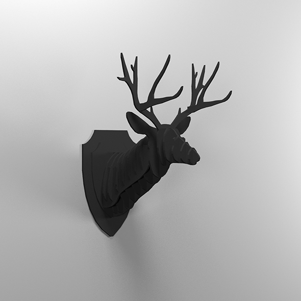 Deer head - 3DOcean Item for Sale
