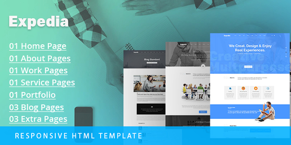 Expedia – Multipurpose Responsive Bootstrap Template