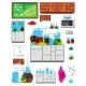 Chemical Lab Elements Set
