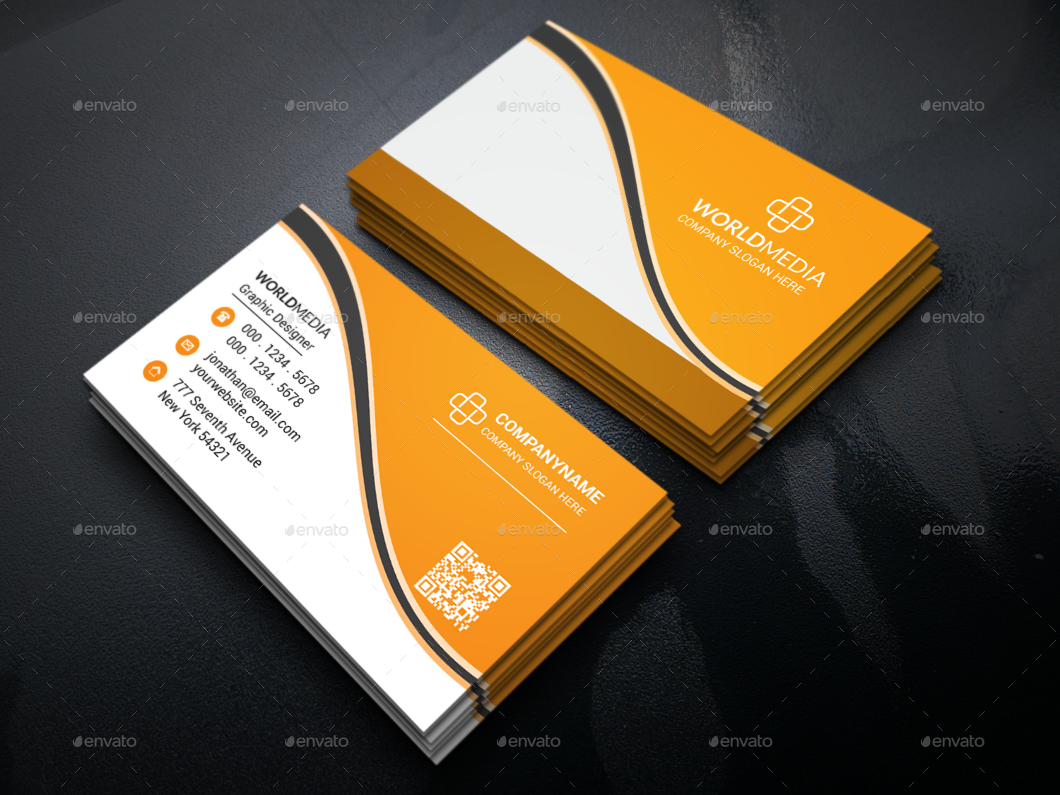 Corporate Business Card By Galax E