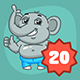 Elephant Mascot Pack - GraphicRiver Item for Sale