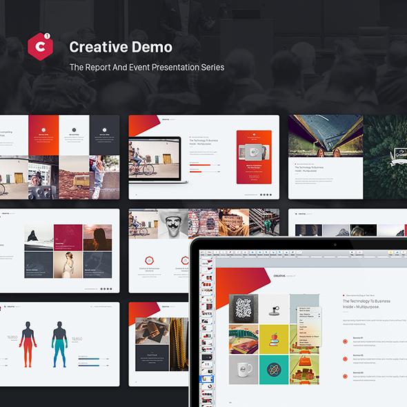 Creative powerpoint theme event report theme series by simplesmart creative powerpoint theme event report theme series creative powerpoint templates toneelgroepblik Images