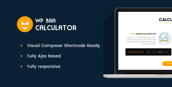 WP Bra Calculator - CodeCanyon Item for Sale