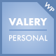 Valery CD - Personal Blog Theme for WordPress