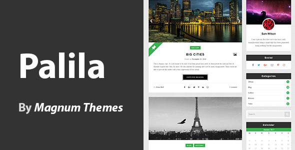 Palila - WordPress Blog Theme