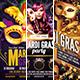 Mardi Gras Flyer Bundle - GraphicRiver Item for Sale
