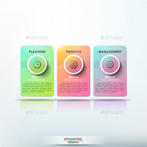 Futuristic Abstract Infographics - Infographics