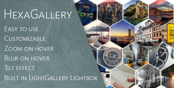 Hexa Gallery for Visual Composer - CodeCanyon Item for Sale