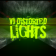 VJ Distorted Lights (4K Set 13)