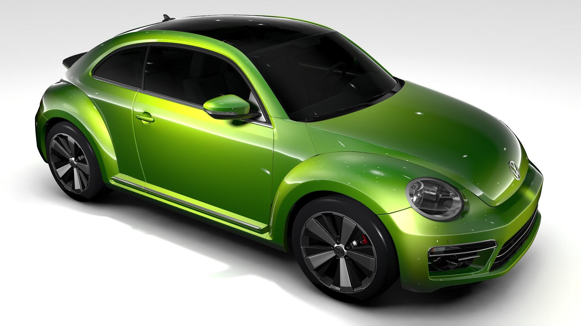 vw beetle 2017 by creator 3d 3docean. Black Bedroom Furniture Sets. Home Design Ideas