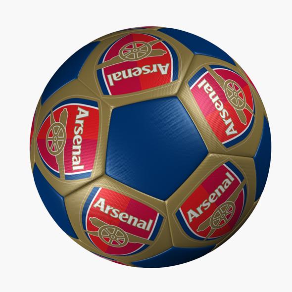 Soccer Ball ARSENAL - 3DOcean Item for Sale