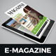 E-Book Magazine Design v1 - GraphicRiver Item for Sale