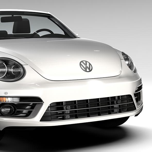 VW Beetle Cabriolet 2017 - 3DOcean Item for Sale