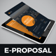 E-Proposal Design - GraphicRiver Item for Sale