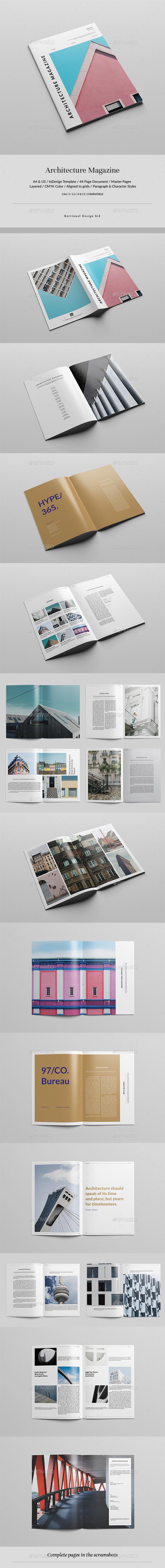 Architecture Magazine - Magazines Print Templates