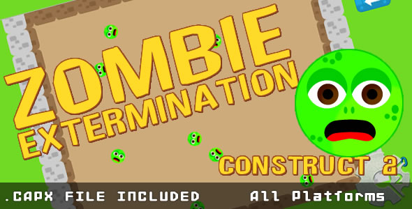 Zombie Extermination - (.CAPX) - CodeCanyon Item for Sale