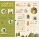 Camping Poster Brochure Cover Template - GraphicRiver Item for Sale