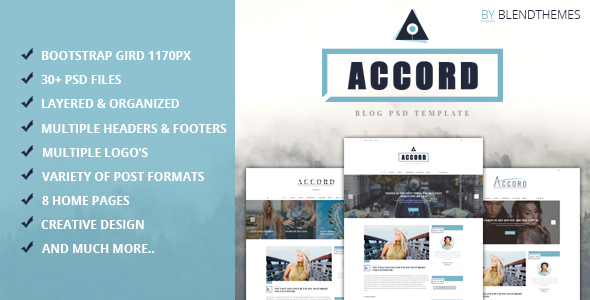 Accord - PSD Templates