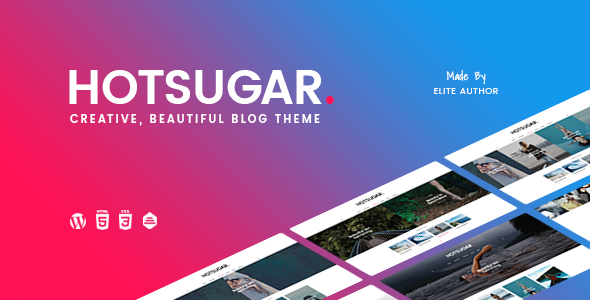 HotSugar | Responsive WordPress Blog Theme