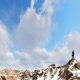 Businessman Top on Clouds - VideoHive Item for Sale