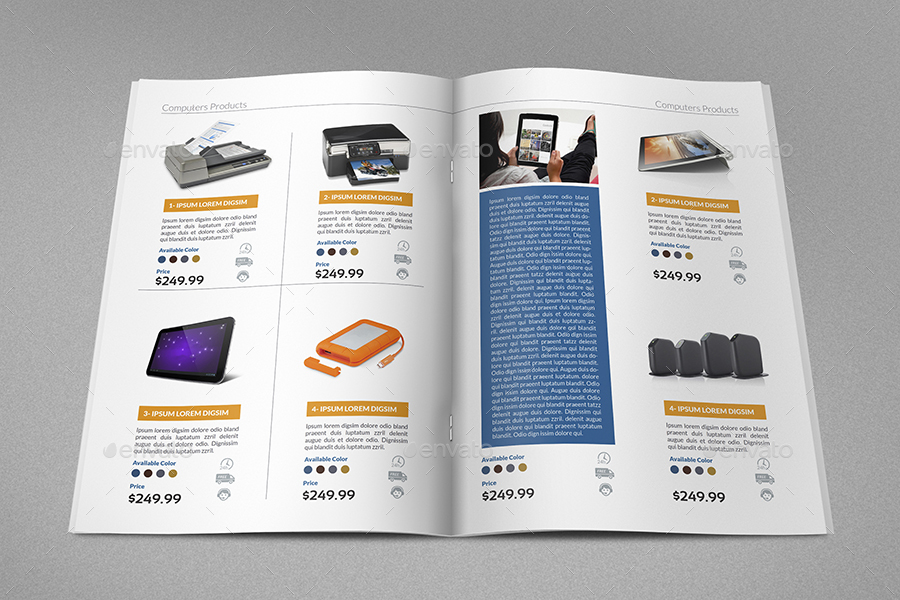 Products Catalog Brochure Bundle Vol By Owpictures  Graphicriver