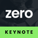 Zero - Keynote Presentation Template - GraphicRiver Item for Sale