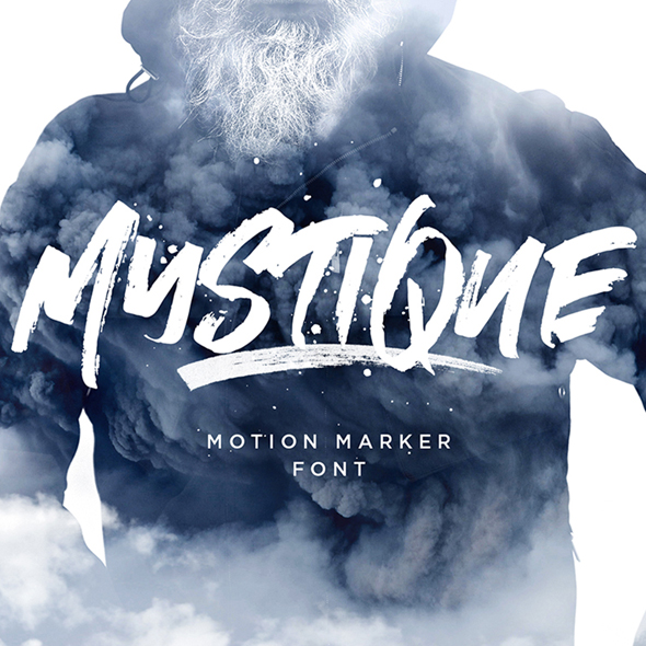 Mystique Marker Font - Hand-writing Script