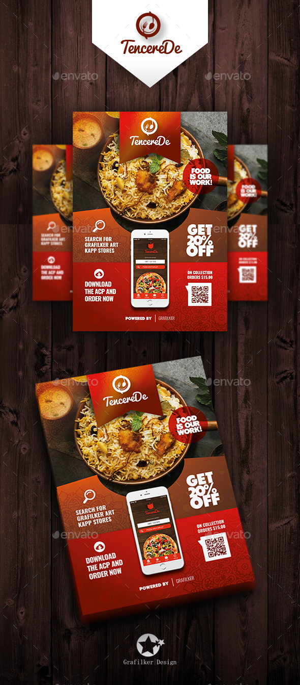 Restaurant Flyer Templates - Restaurant Flyers