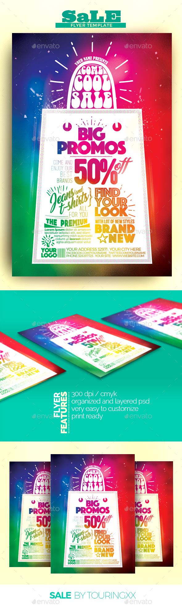Sale Flyer Template - Flyers Print Templates