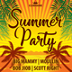 Summer Sun Party Flyer Template 148
