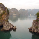 Aerial View Of Halong Bay Vietnam - VideoHive Item for Sale
