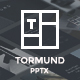 Thormund - Design & Portfolio Powerpoint Template - GraphicRiver Item for Sale