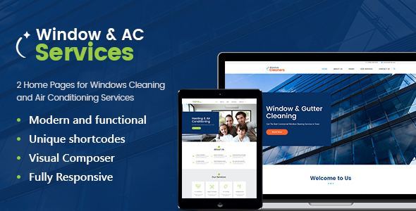 AC Services | A Window Cleaning, Air Conditioning and Heating Services