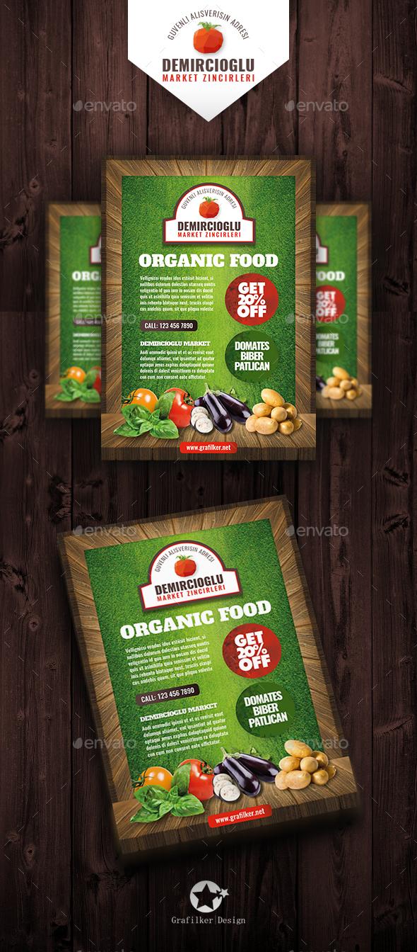 Organic Market Flyer Templates - Corporate Flyers