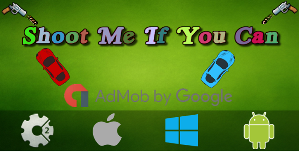 Shoot Me If You Can (Local Multiplayer) + Admob - Construct 2 Game - CodeCanyon Item for Sale