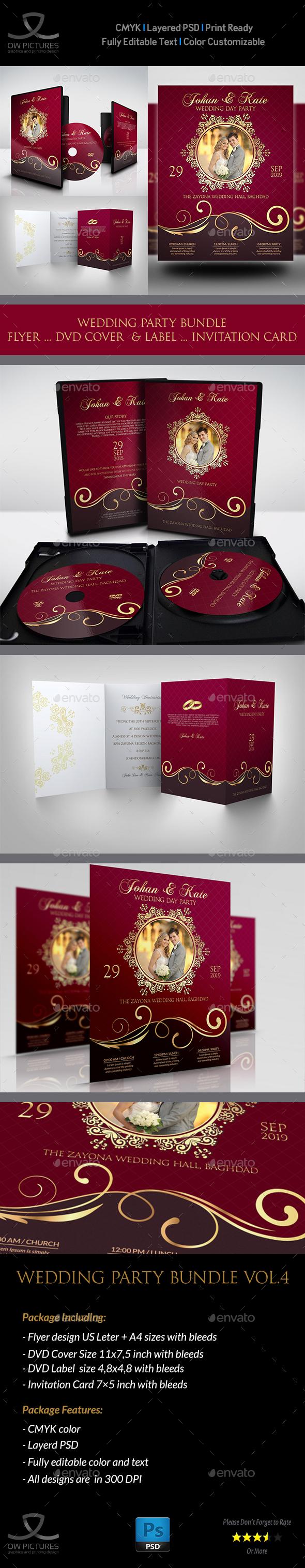 Wedding Party Bundle Vol.4