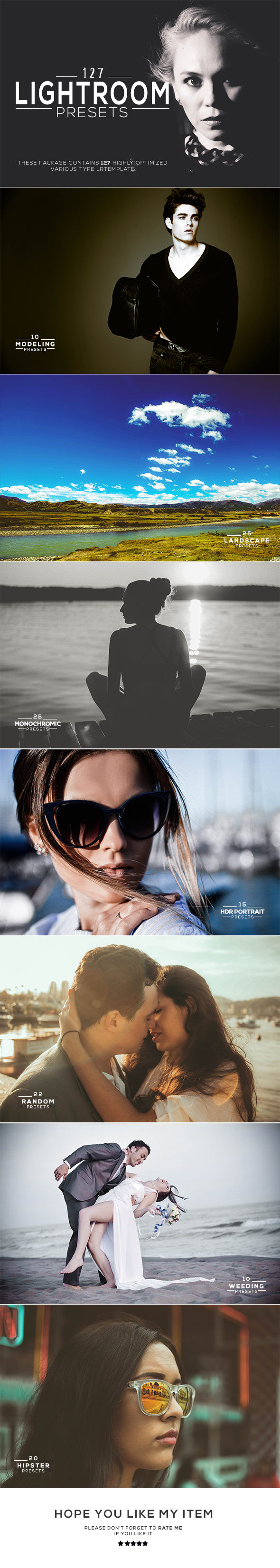 127 Lightroom Presets - Lightroom Presets Add-ons
