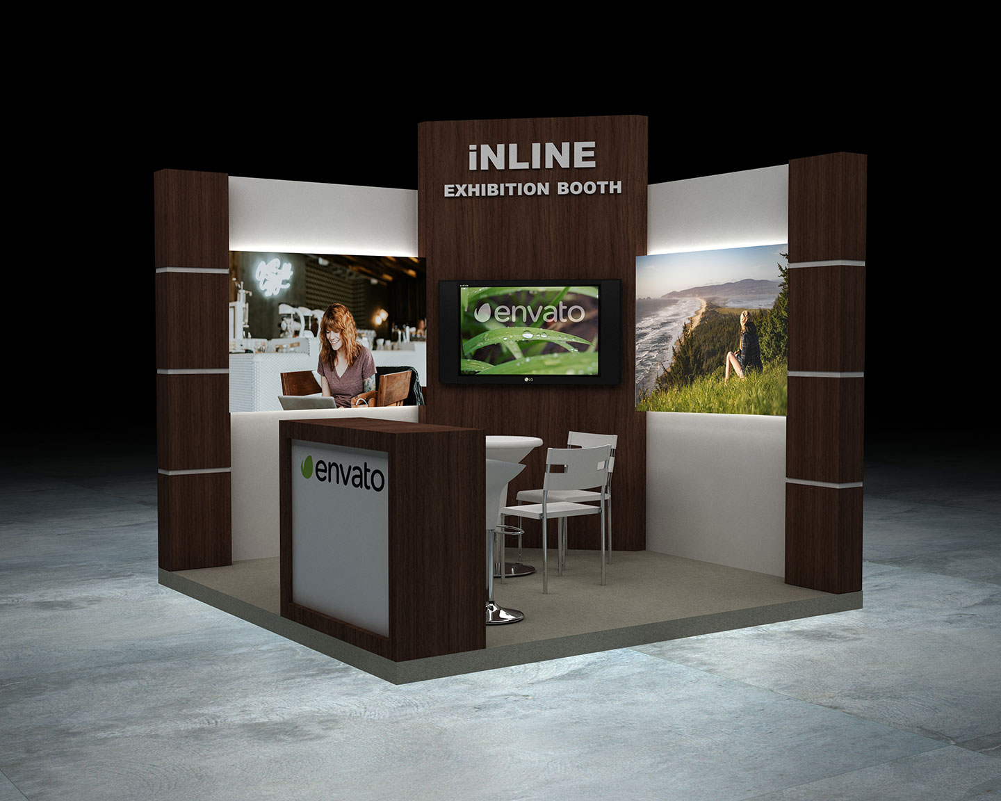 Property Exhibition Booth : Exhibition booth inline by brakster docean
