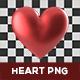Heart PNG Set