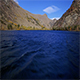 Blue Lake Water Flight - VideoHive Item for Sale