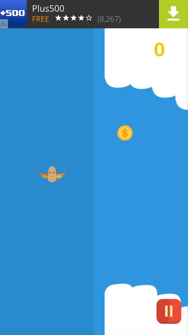Sky Diving - One Hour Reskin - iOS11 and Swift 4 ready