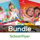 Kids Arts School Flyers Template