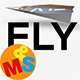 Fly - Folding Airplane Transition - VideoHive Item for Sale